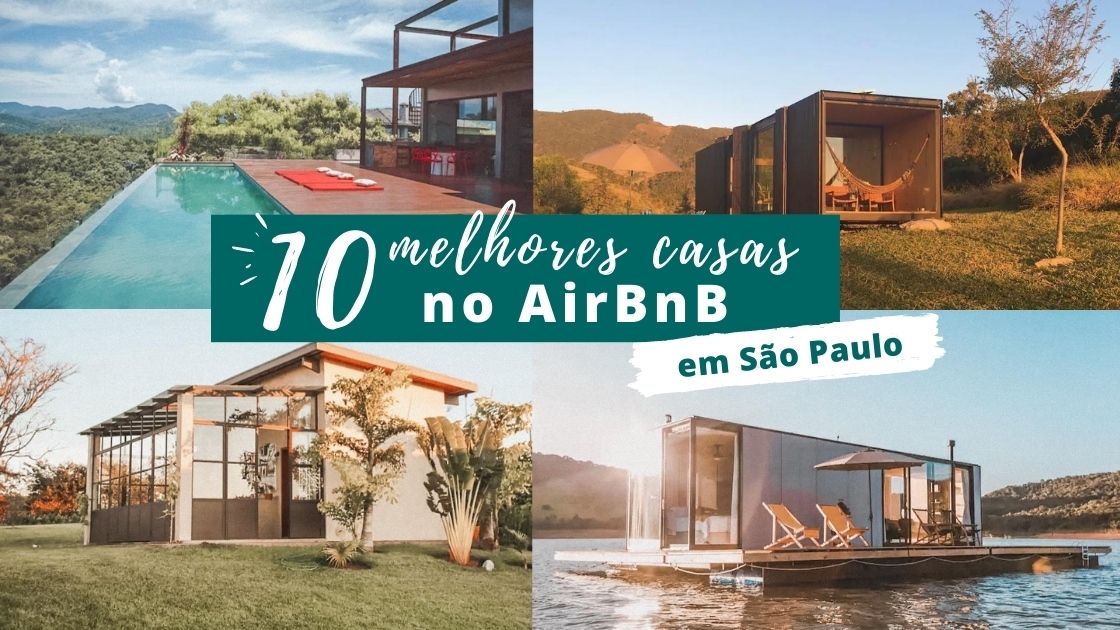 Melhores casas do AirBnb em São Paulo