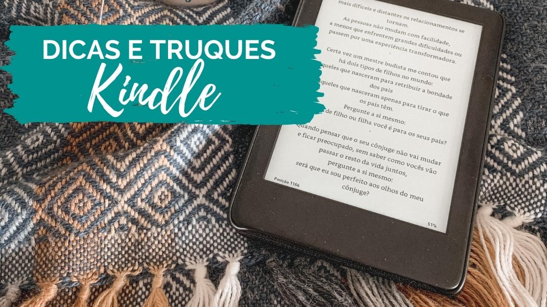 Dicas e Truques do Kindle